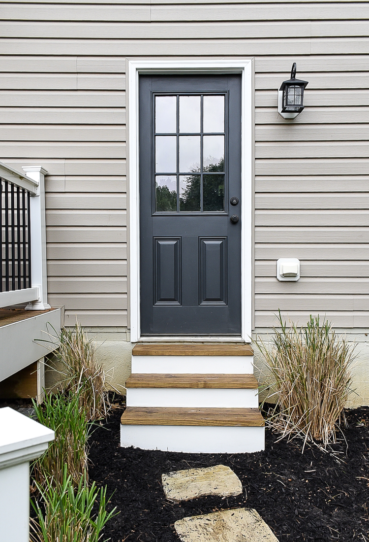 Budget-friendly outdoor makeover after