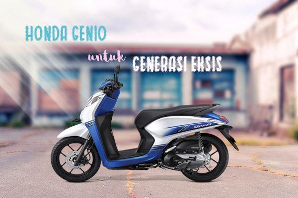 [REPORTASE ] Honda Genio, Si Stylish yang Siap Menyertai  Generasi Eksis