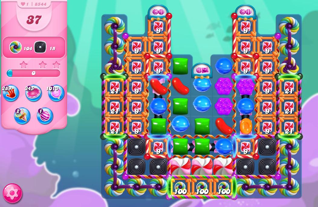 Candy Crush Saga level 8544