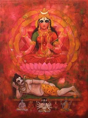 Shodashi, Lalita, Lalita Dhyan, Shodashi Dhyan