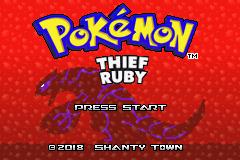 pokemon thief ruby sapphire