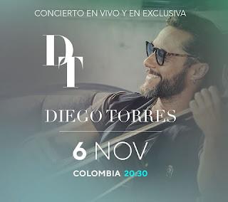 Concierto de Diego Torres ¡EN VIVO! | LIVE STREAMING