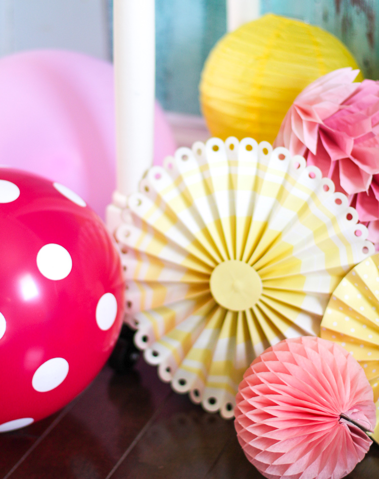 Easy ways to add more color to your party table