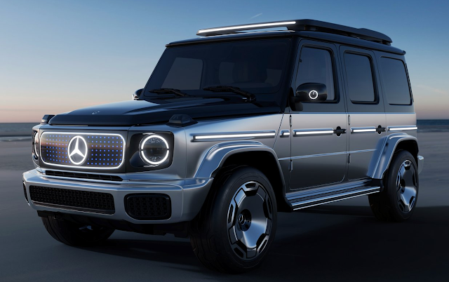 Mercedes Previews Electric G-Class with Concept Car