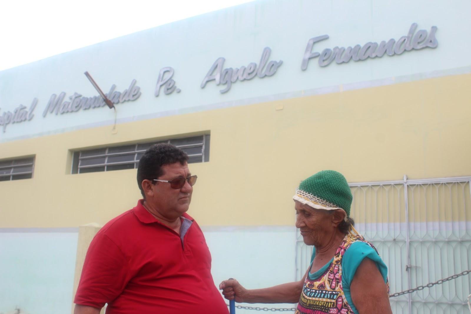 Resultado de imagem para prefeito de marcelino vieira Maternidade Padre Agnelo Fernandes