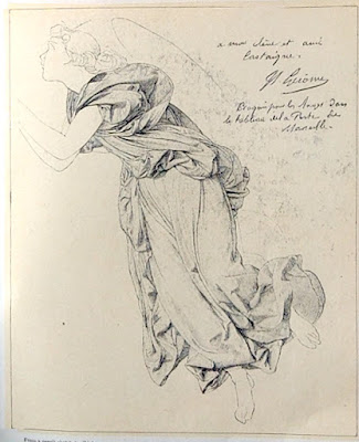 Gérôme Study of an Angel