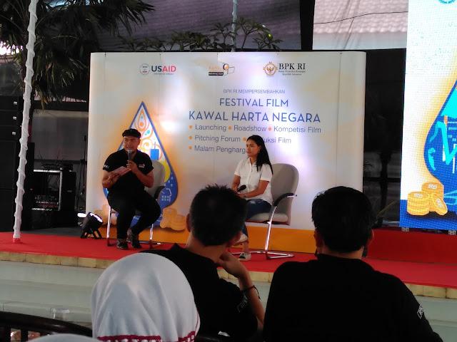 Roadshow Festival Film Kawal Harta Negara di Museum BPK RI