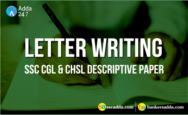 ssc informal letter writing for descriptive exam