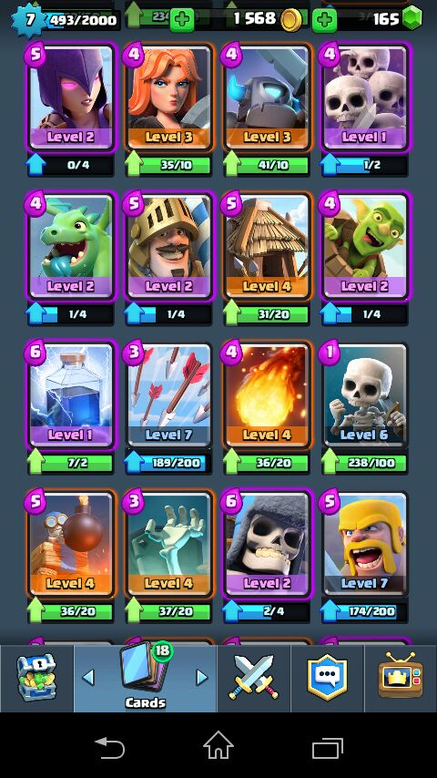clash royale how to stay level 1
