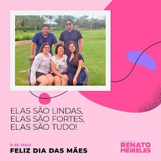Mensagem do vereador Renato Meireles para as Mães de Guarabira