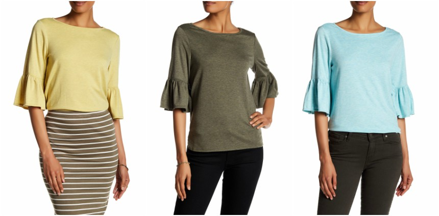 Max Studio Bell Sleeve Tee for only $26 (reg $88)