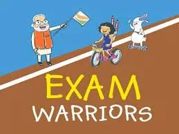 PM Modi released the latest edition of the book titled Exam Warriors