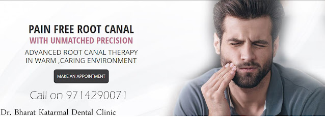 make appointment for painless root  canal treatment at Jamnagar