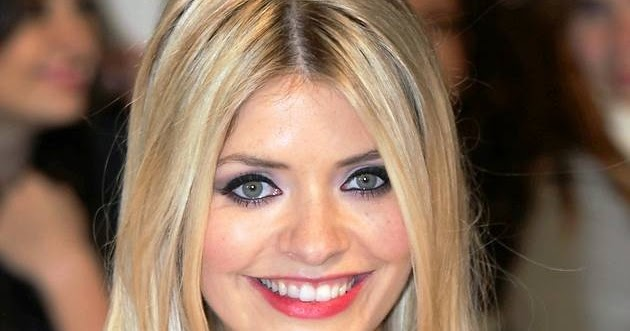 miley cyrus eyebrows Holly Willoughby Hairstyle is 2nd Most Copied
