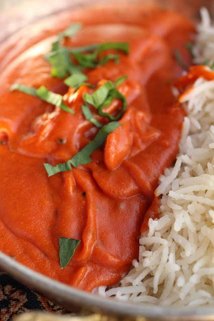 sauce tomate indienne
