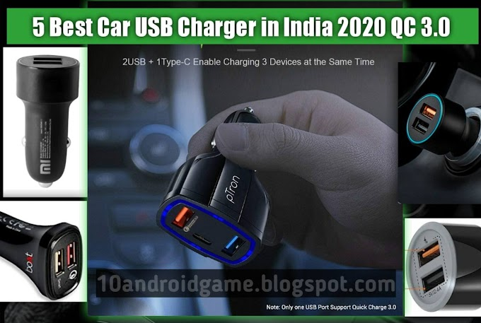 5 Best Car USB Charger in India 2020 QC 3.0