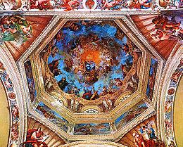 Cupola dell'abbazia di Santa Maria del Monte.