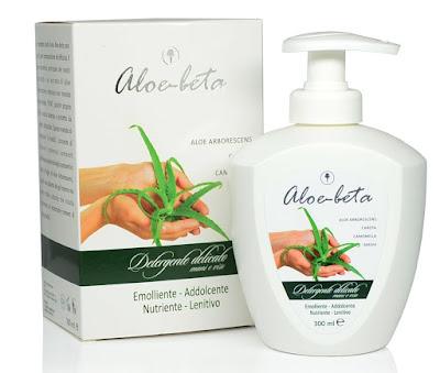 Detergente delicato mani viso Aloe-beta con Aloe Arborescens è ideale per ogni tipo di pelle.