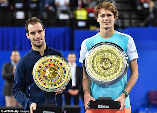 Zverev beats Gasquet to win Montpellier title