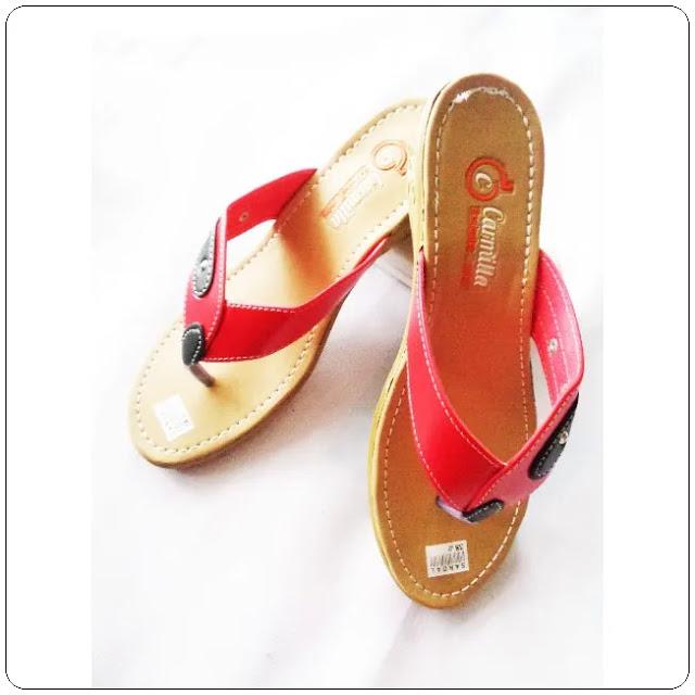 Distributor Sandal Carmilla Hak japit Tasikmalaya