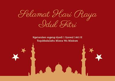 Ucapan Hari Raya Idul Fitri Bahasa Jawa 2020