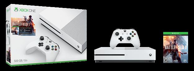 Se han anunciado dos bundles de Xbox One S con Battlefield 1 2