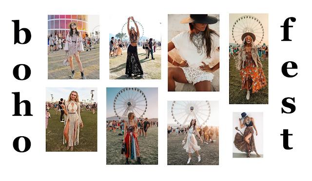 jak się ubrać na festiwal - w co się ubrać na festiwal - festival look - festival fashion - festival outfit - festiwale muzyczne  2019 w Polsce - boho fashion - boho fesival