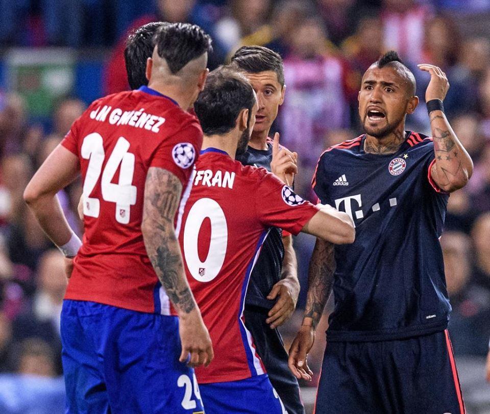 Arturo Vidal habla del Atlético de Madrid