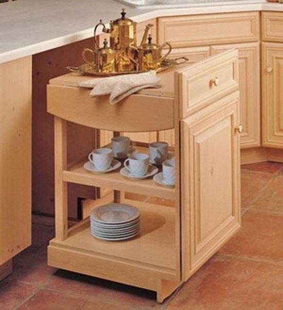 Creative Kitchen Cabinet Ideas: 25 Creative Small Kitchen Storage Cabinet Designs