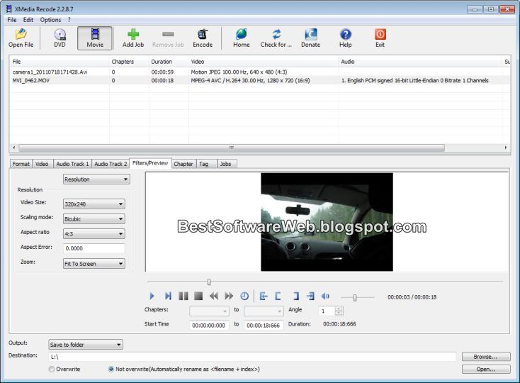 Convert Audio and Video Files with XMedia Recode Download Free
