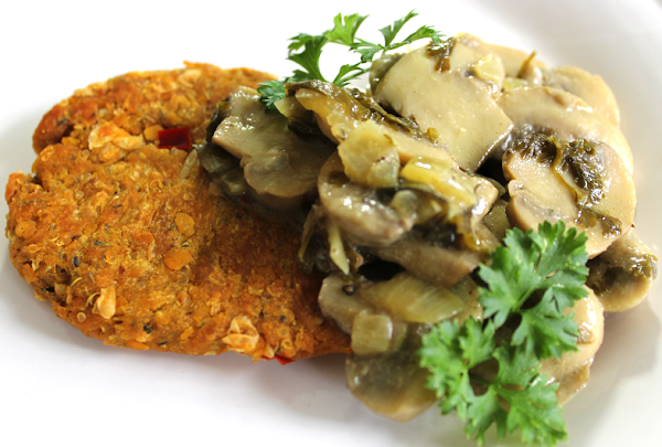 Baked Chickpea Cutlets