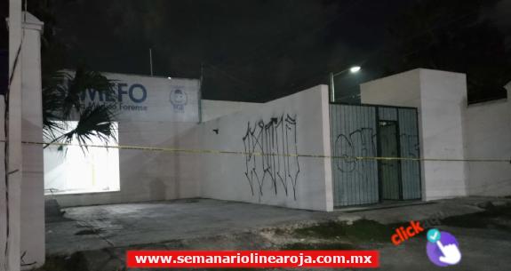 Roban la morgue de Playa del Carmen