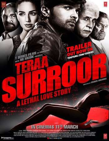 Poster Of Teraa Surroor 2016 Hindi 700MB Cam x264 Free Download Watch Online