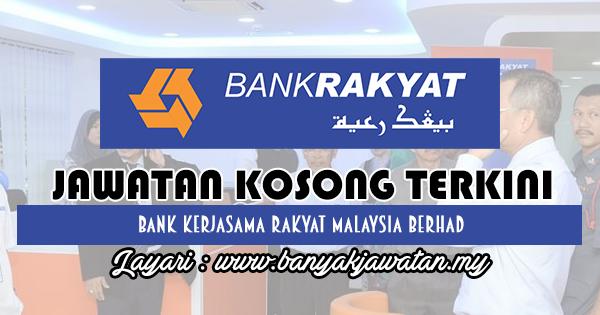 Jawatan Kosong 2018 di Bank Kerjasama Rakyat Malaysia Berhad