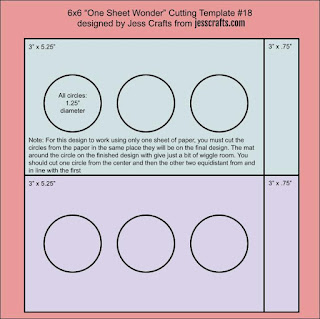 One Sheet Wonder Template #18 by Jess Crafts