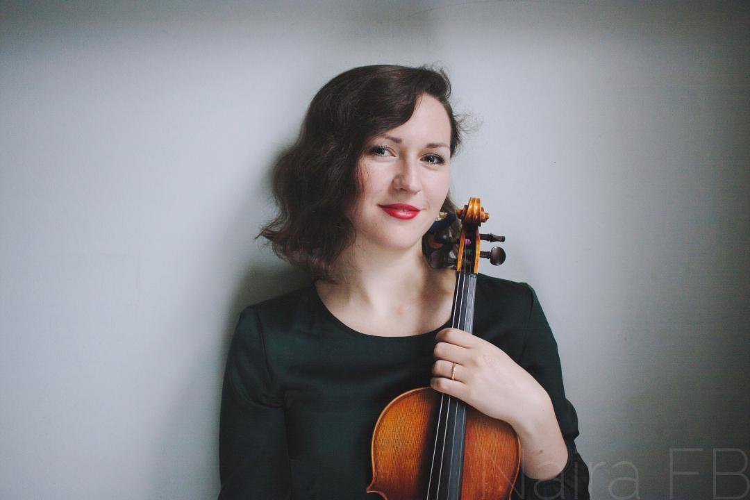 Gabriela Prococka, violin