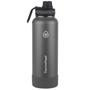 Bình Giữ Nhiệt Màu Xám Thép Không Gỉ Thermoflask 1.2L Hàng Xách Tay Mỹ