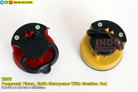 Pengasah Pisau, Knife Sharpener With Suction Pad
