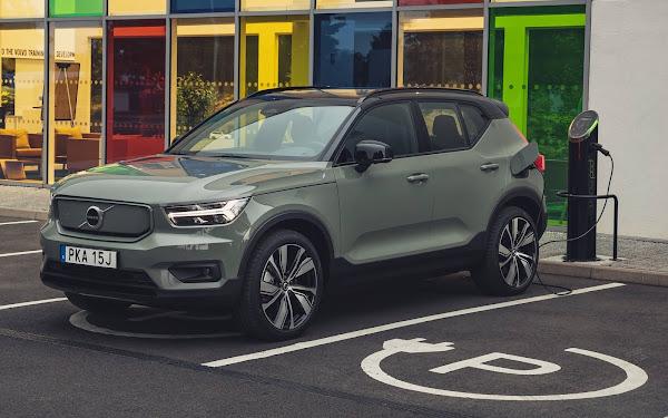 Volvo XC40 elétrico chega para enfrentar VW ID.3 e Tesla Model 3