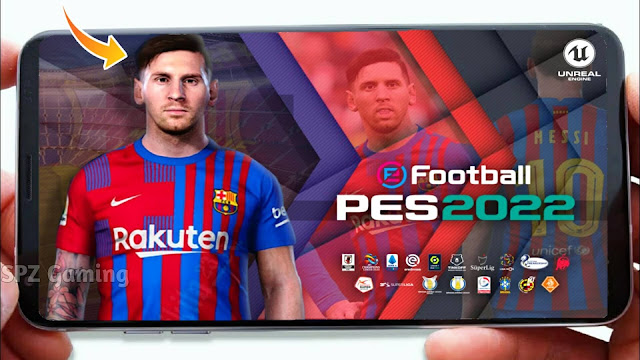eFootball PES 2022 Android Offline 1GB Real Faces Best Graphics Updated
