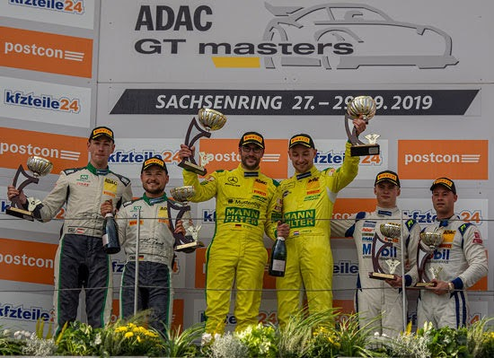 Dontje und Götz holen ersten Saisonsieg für Mercedes-AMG
