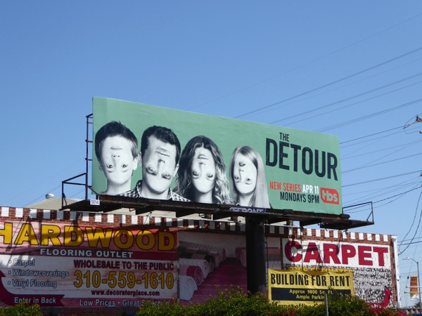 Detour season 1 billboard