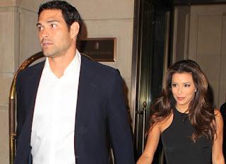 Eva Longoria And Mark Sanchez