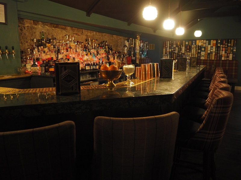 View of the bar in The Tippling House