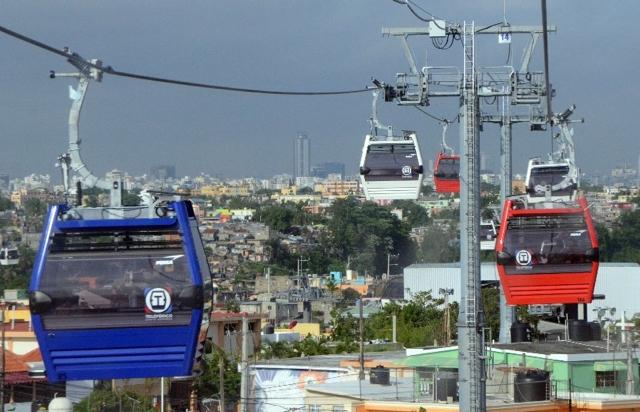 Teleférico de Santo Domingo suspende servicio por aguaceros