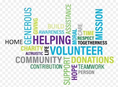 Volunteer adalah sukarelawan untuk membantu meringankan masalah masyarakat