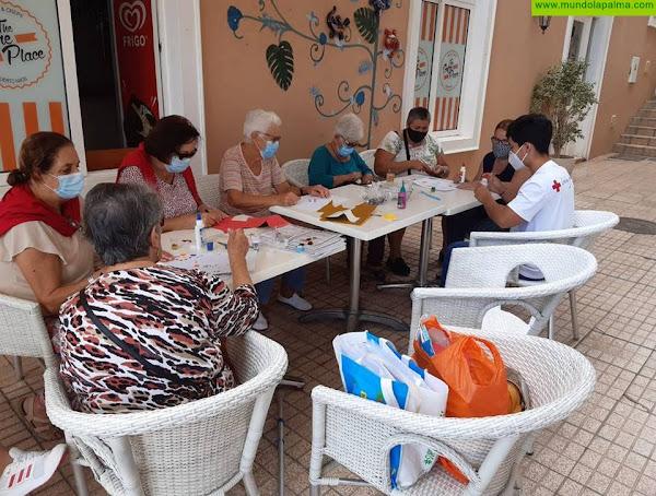 Cruz Roja apoya a 48 personas mayores del municipio de Los Llanos de Aridane para mejorar sus capacidades cognitivas y prevenir su deterioro