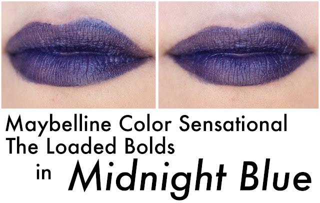 Maybelline Color Sensational The Loaded Bolds en Midnight Blue