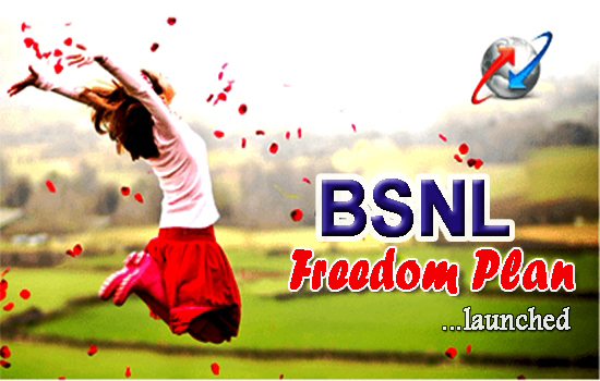 BSNL Kerala Circle launched FREEDOM prepaid mobile plan on 19th October 2016, Recharge 136 to get 2 year validity & Free Data on Combo Vouchers