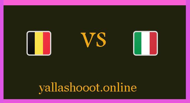 موعد مباراة ايطاليا وبلجيكا يلا شوت اليوم الجمعة الموافق 2-7-2021 يورو 2020